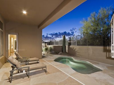 Photo for Desert Rose - Stunning Private Troon North Home on Golfcourse with 2 bds + den