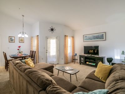 Photo for BEAUTIFUL CONDO MINUTES FROM GORGEOUS BEACHES AND LOTS OF FAMILY ATTRACTIONS!!!