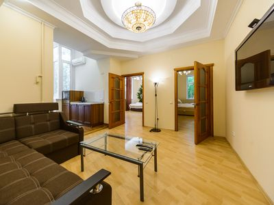 Photo for Modern comfortable 3 bedroom apartment in a top location in a city heart