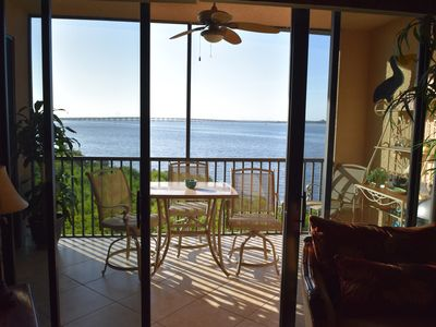 View from living room / lanai