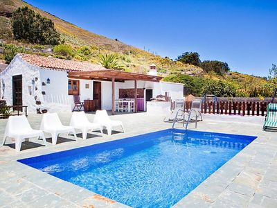 Photo for This 2-bedroom villa for up to 4 guests is located in El Rosario and has a private swimming pool and