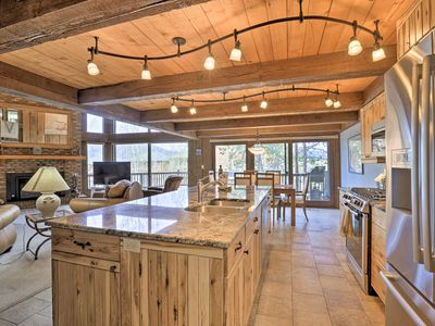 Photo for Luxury Silverthorne Home - 3 Decks, Mountain Views