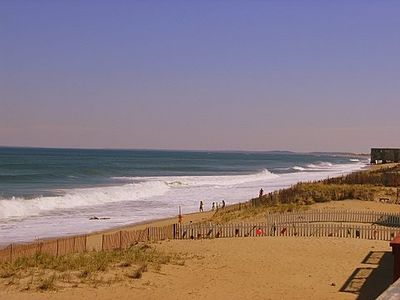 Photo for Family Cottage on the Beach Front Sand - Spectacular Water Views! Walk to Brdwlk