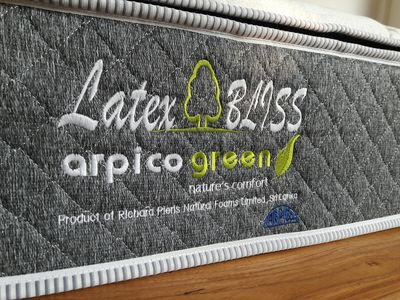 100% Natural Rubber ( Latex)mattress without spring