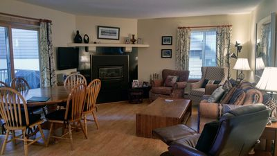 Photo for BC West #U-1: 3BR Condo w/ FREE Skier Shuttle, Heated Pool, Hot Tubs