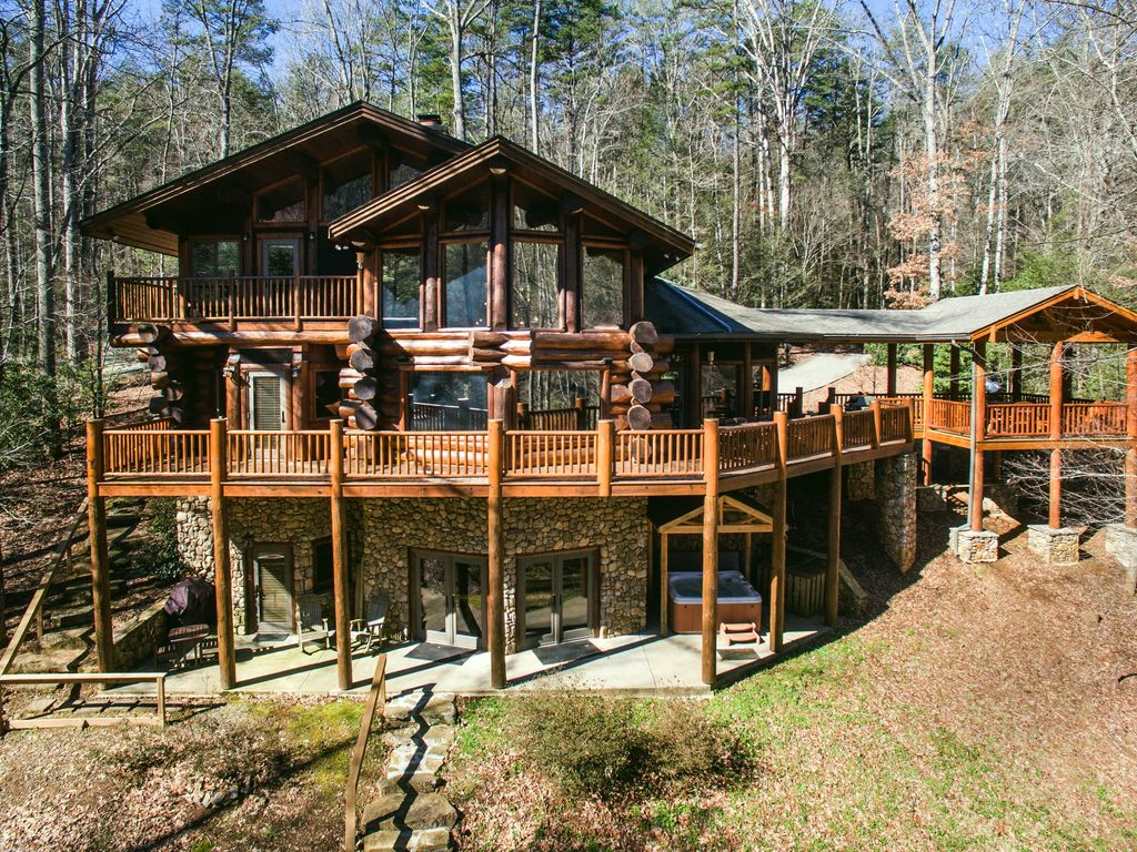 River Ridge Lodge On The Toccoa River 4 Kin Homeaway