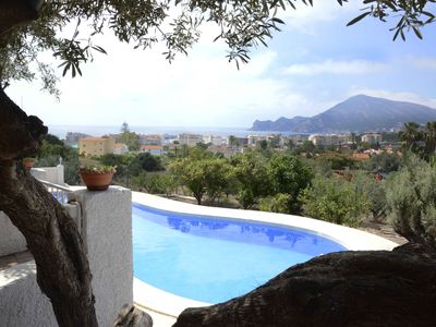 Photo for Villa Old Town Altea, fabulous sea views wifi, ideal family pets