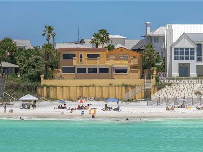 Photo for Polo Beach Club - Gulf Front, Private Pool, Unobstructed Views in Blue Mountain!