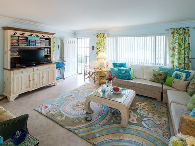 Photo for Amazing Condo, 1 Block from Beach and Village