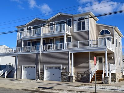 Photo for 2 blocks from the beach/short walk to the center of town and shopping and dining and all the best that Sea Isle has to offer!