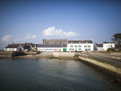 Photo for Waterfront Villas sleeps 14 in two homes In Southern Brittany