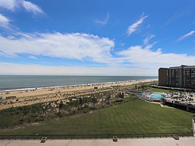 Photo for D606: Completely renovated 2BR Sea Colony oceanfront condo | Beach, pools, tennis ...