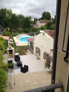 Photo for charming detached house in a property with swimming pool