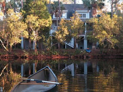 Photo for Large Pet ok Home on Beautiful Lagoon, ask for 25%  discount for open June week