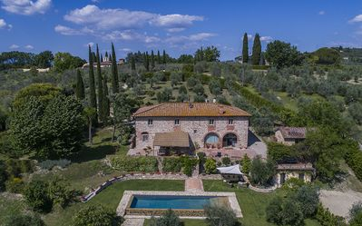 Photo for Villa La Pietrina - Magnificent countryhouse nestled in the hills near Florence