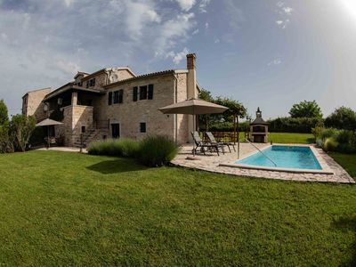 Photo for Charming stone house, private pool in a quiet location