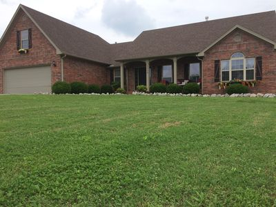 Photo for Beautiful brick home on one acre in Northwest Arkansas