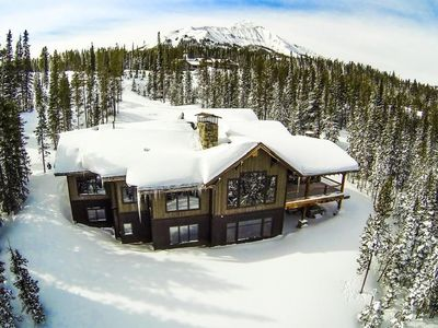 Photo for Perfect ski access, Best views anywhere, 2.5 ac of privacy - Moonlight Basin