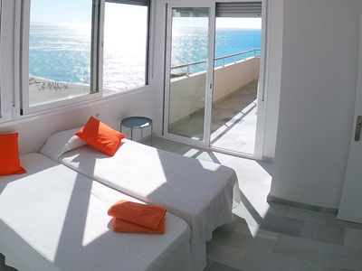 Photo for Beach Front Penthouse - Fuengirola