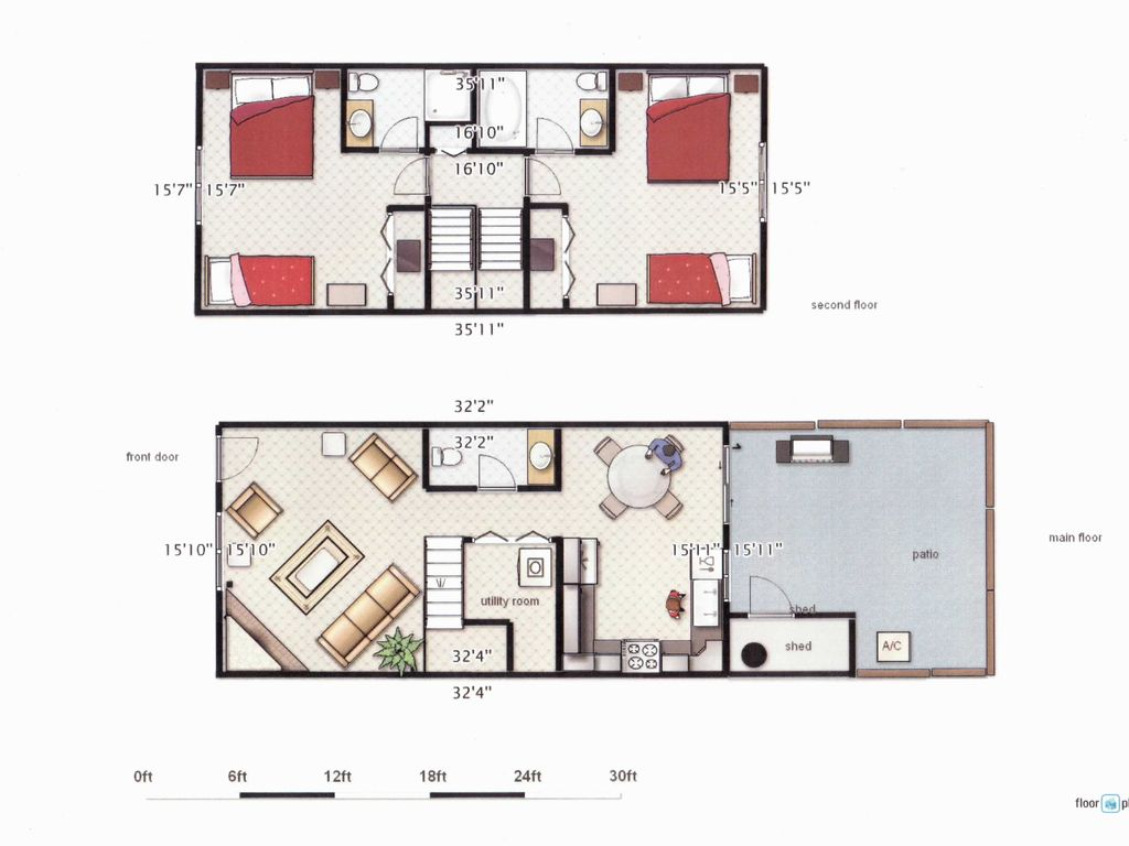 2 bedroom townhouse. 2 bedroom townhouse close to cardinals/coyotes and dodgers/white sox spring camp
