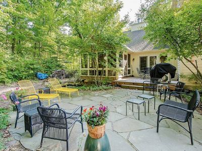 Photo for * RELAXING Beach Cottage * Peaceful Escape -- Pool, Wooded Setting, Beach Access