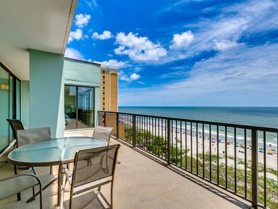 Photo for Huge Oceanfront Top Floor Penthouse at Carolina Dunes w/ Panoramic views!