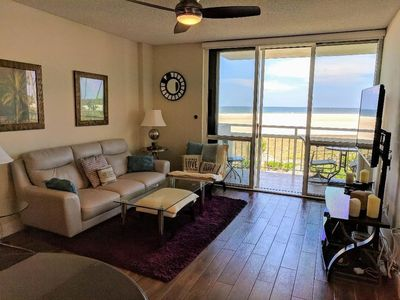 Photo for Beachfront  2 BR Condo with Breathtaking  Views