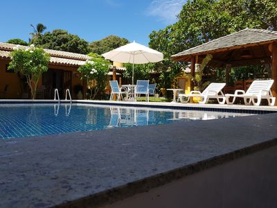 Photo for Beautiful place with swimming pool, games room and so on. to 10 min. from beach.