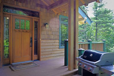 Enjoy the amenities at the Hound Ears Club and the Blue Ridge Mountains