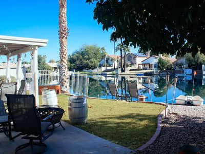 Photo for Paddleboat in Cozy Lakefront! Minutes from Downtown Chandler. Community Pool/Spa