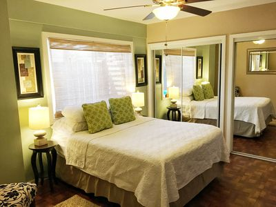 Spacious Master Bedroom with queen size bed