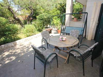 Photo for One bedroom apartment with terrace Cavtat (Dubrovnik)
