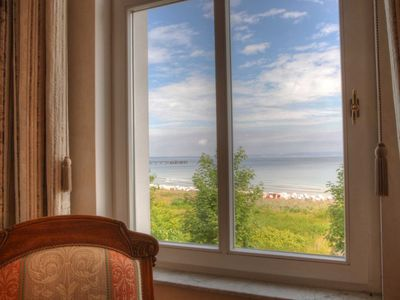 Photo for Whg. 3 - Villa Strandeck directly on the beach, with Baltic Sea view, TOPLAGE