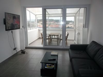 Photo for Pleasant apartment type 3 with its South facing loggia located in the center