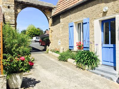 Photo for Charming town house near the beaches of Normandy and Pegasus Bridge