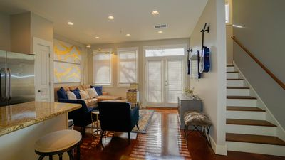 Photo for Modern Stylish Condo Walk to Vanderbilt, Phillips Place Unit #7