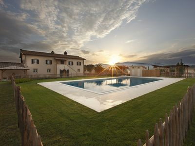 Photo for In the Tuscan Maremma, near the sea, a pool villa with all the comforts