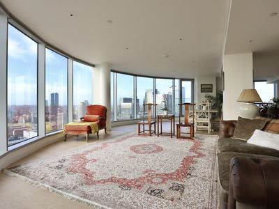 Photo for Penthouse Apartment with 360 river view
