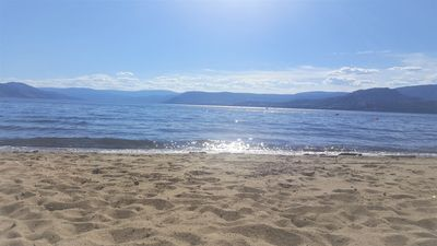 Photo for Live on the beach with your own private sandy beach and full