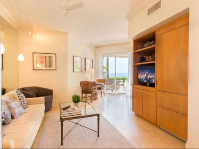 Photo for ASK FOR DISCOUTNS - Luxurious Oceanfront Suite on Fisher Island w/Golf Cart