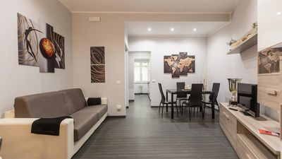 Photo for Spacious Archimede 2215 apartment in Borghese-Parioli with air conditioning.