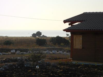 Photo for Cottage nice new, sea view near Marzamemi, Noto and Portopalo