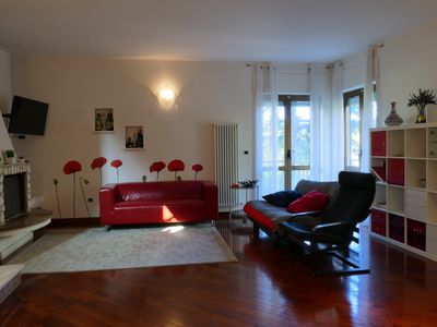 Photo for Luxury villa in exclusive close to the sea and 90 minutes from Rome