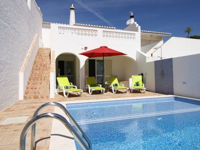 Photo for Super family villa - private pool, walk to village & beach