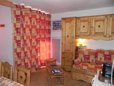 Photo for Beautiful 3 pieces 40m2 sleeps 9 June the slopes with south balcony