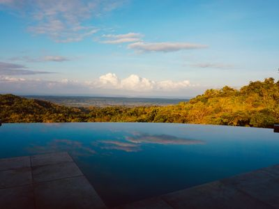 Photo for Luxurious modern Villa with Panoramic ocean and tropical rain forest views