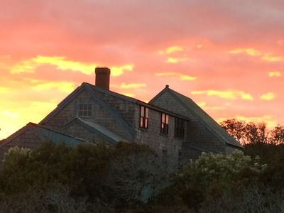 Photo for Peaceful, private island home on Tuckernuck, Nantucket