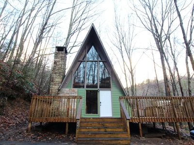 Photo for Pet Friendly Cabin, Spa Amenities Ober and Downtown Gatlinburg 5Min!!