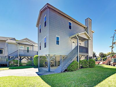 Photo for New Listing! Lake-View Duplex w/ Screened Porch -- 350 Yards to Beach