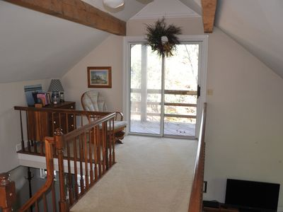 Photo for Scenic Lakefront Chalet with Pocono Charm and private dock